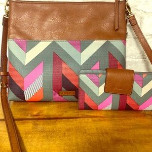 Fossil Fiona Crossbody and Wallet